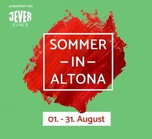 Sommer in Altona Logo mit Datum